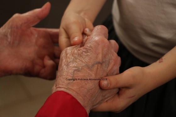mains mamie