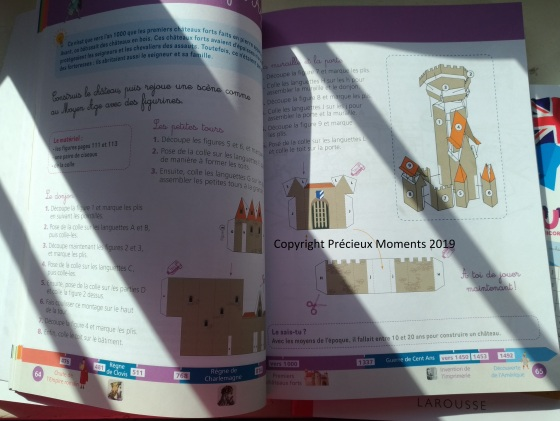 cahier montessori histoire du monde