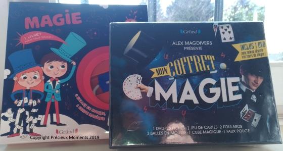 coffrets de magie