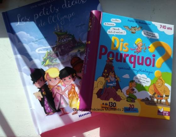 livres mythologie enfant