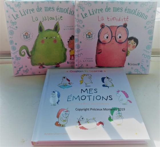 livres pour enfant sur les émotions