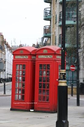 Londres cabines téléphoniques
