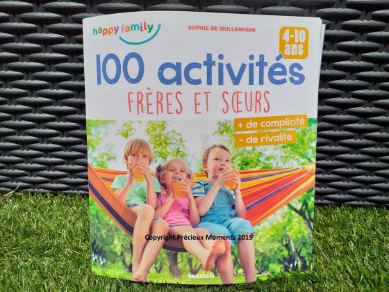 livre 100 activités freres et soeurs