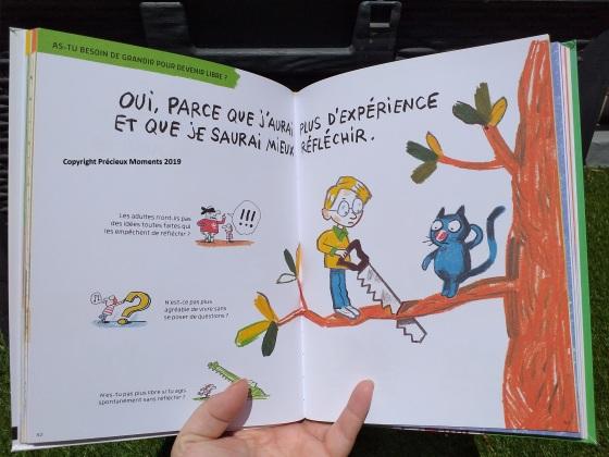 livre philo enfant liberté