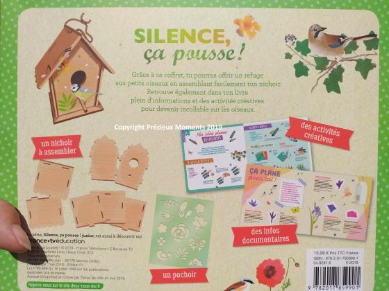 silence ca pousse oiseaux