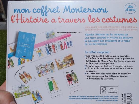 coffret montessori histoire