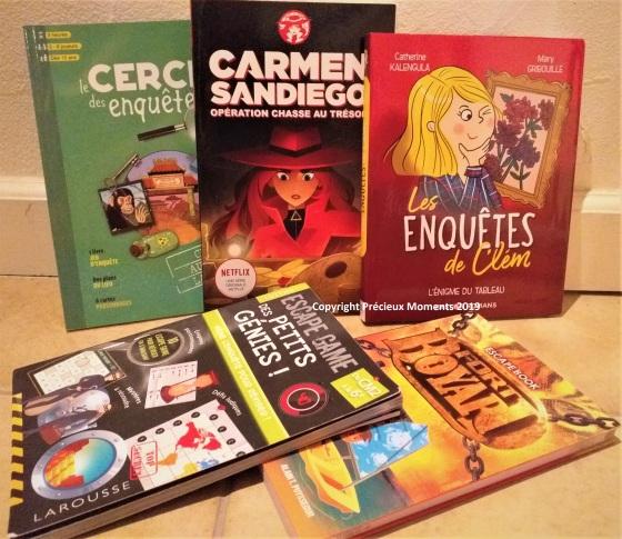 livres enigmes et heroines