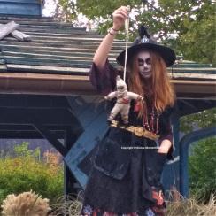 Walibi Halloween sorciere vaudou