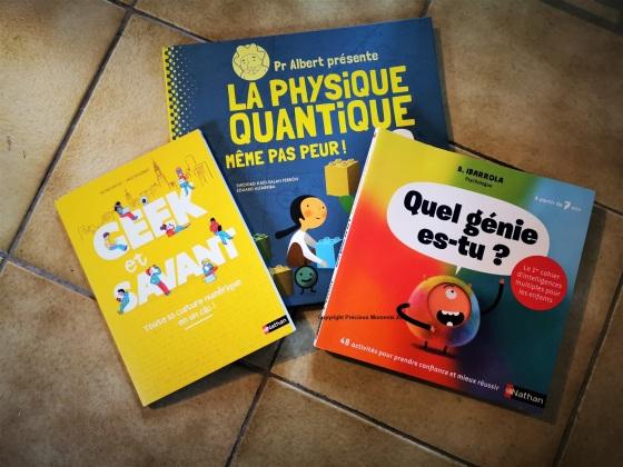 livre sciences enfant geek informatique