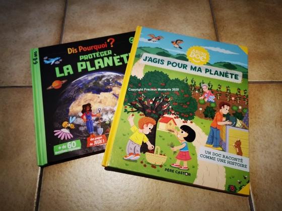 livres enfant envrionnement protéger la planète