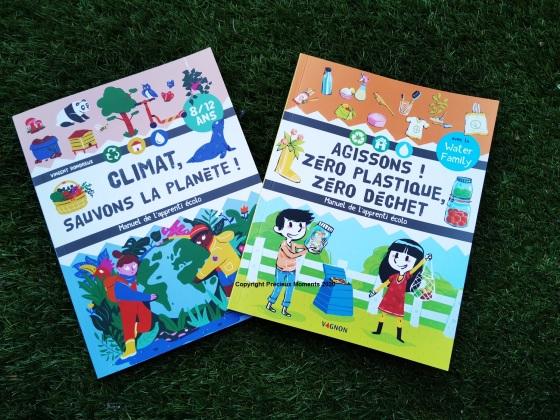 livres manuels apprenti ecolo zero dechet climat