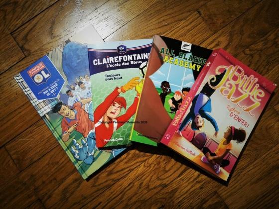 livres sport enfant