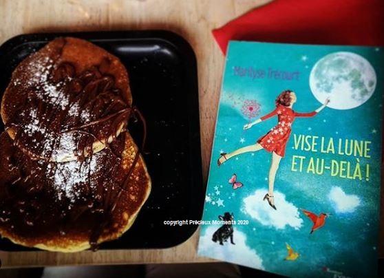Vise la Lune et au dela de MArilyse Trécourt